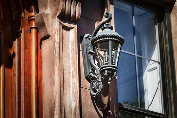 Photograph -  Brownstone Lamp Natural by Val Black Russian Tourchin
