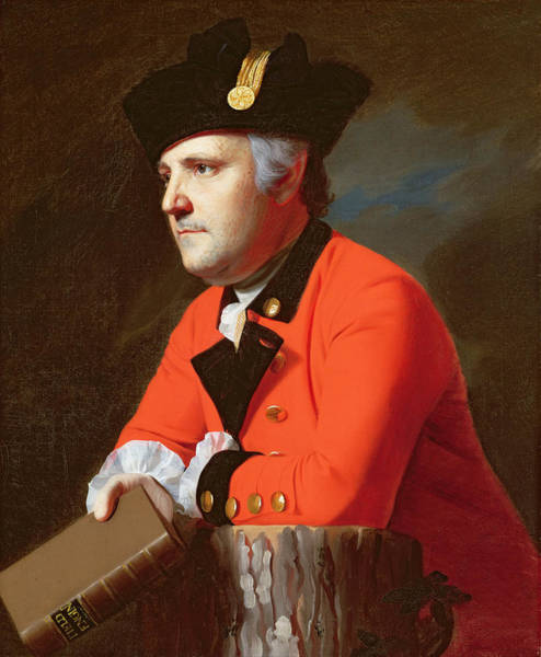 Stump Painting -  Colonel John Montresor  by John Singleton Copley