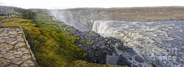 Photograph -  Detifoss Waterfall In Iceland - 04 by Gregory Dyer