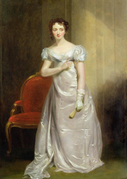 Wall Art - Painting -  Harriet Smithson As Miss Dorillon by George Clint