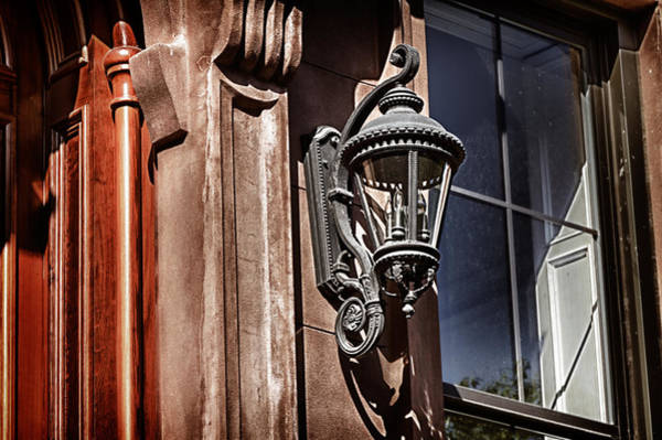 Photograph -  Hdr Brownstone Lamp by Val Black Russian Tourchin