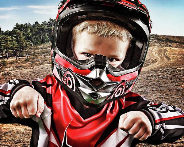 Dirt Bike Photograph -  Imagination by DMSprouse Art