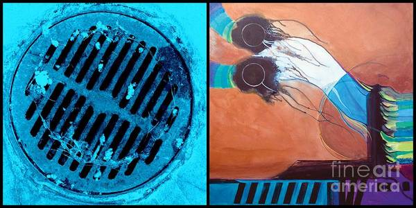 Sewer Painting -  J Hotography 10 by Marlene Burns