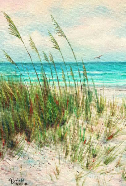 Wall Art - Painting -  Madeira Beach by Gabriela Valencia