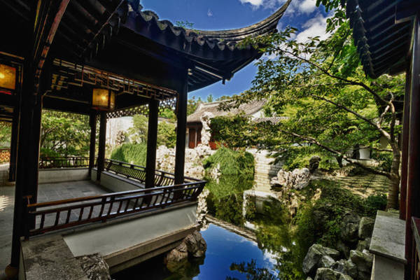 Photograph -  Ny Secret Chinese Garden by Val Black Russian Tourchin