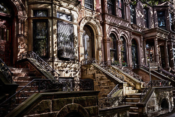 Photograph -  Park Slope Building 33 Take 4 by Val Black Russian Tourchin