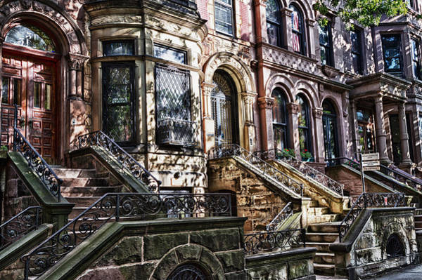 Photograph -  Park Slope Building 33 Take 5 by Val Black Russian Tourchin