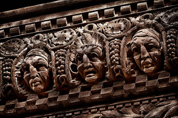Photograph -  Park Slope Landmark Building Detail 4 by Val Black Russian Tourchin