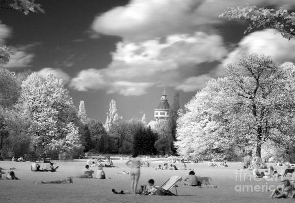 Photograph -  Picnic In Park by Odon Czintos