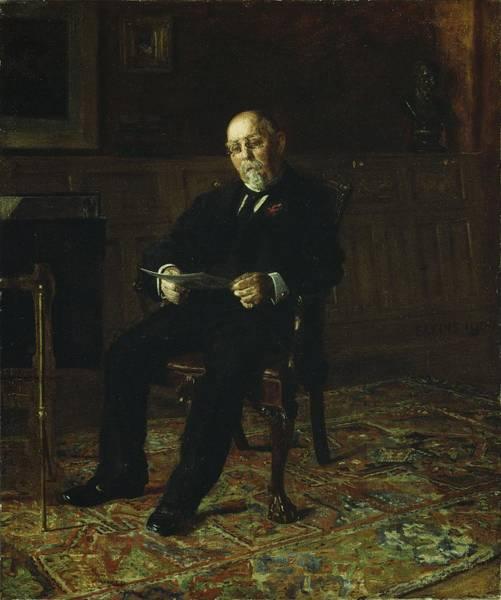 1900 Painting -  Robert M. Lindsay by Thomas Cowperthwait Eakins