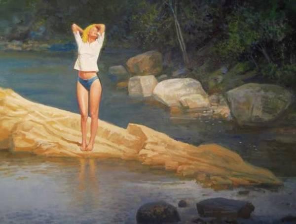 Painting -  Summertime by Mel Greifinger
