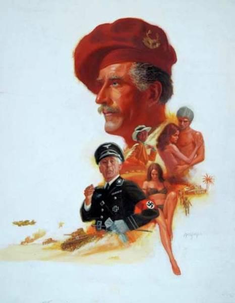 Painting -  The Desert War by Mel Greifinger