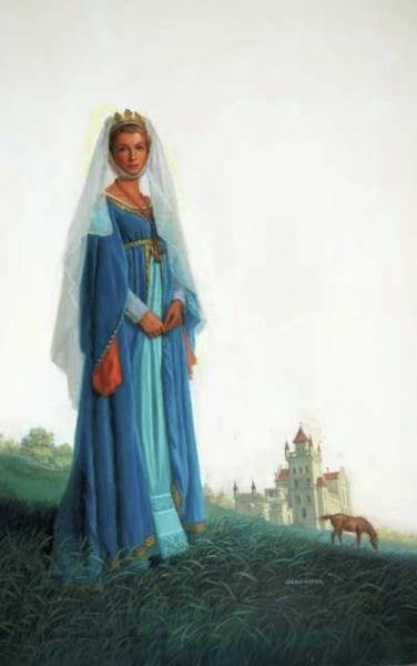 Painting -  The Queen's Agent by Mel Greifinger