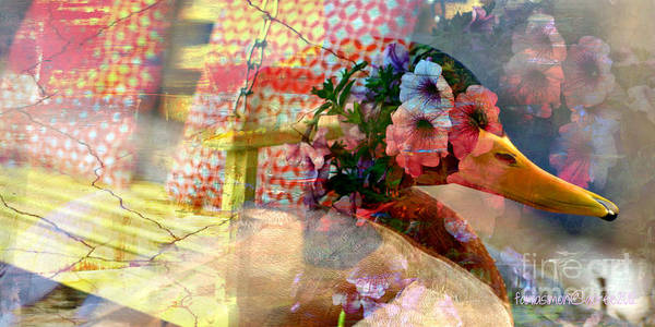 Time Traveler Mixed Media -  Waiting - Art In Me Art In You by Fania Simon