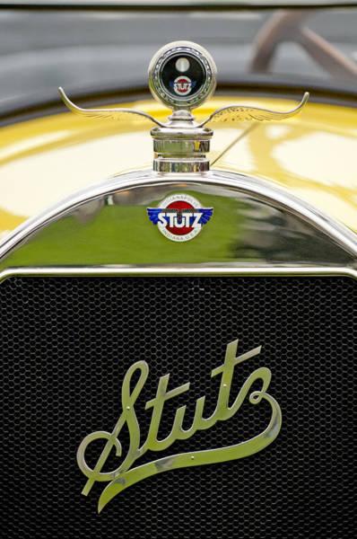 Photograph - 1925 Stutz 695 Speedway Sportster Hood Ornament by Jill Reger