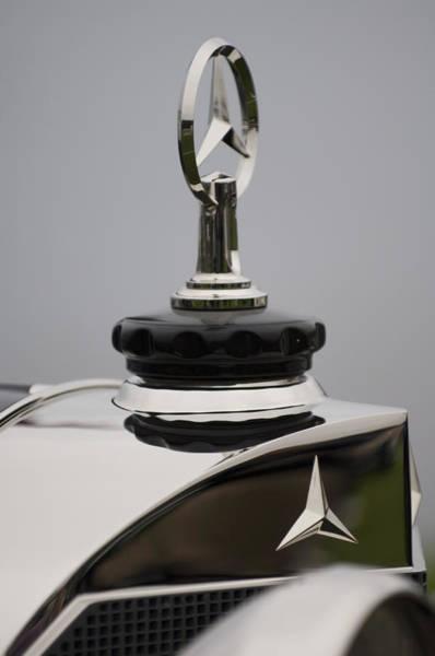 Wall Art - Photograph - 1928 Mercedes-benz S Murphy Speedster Hood Ornament  by Jill Reger