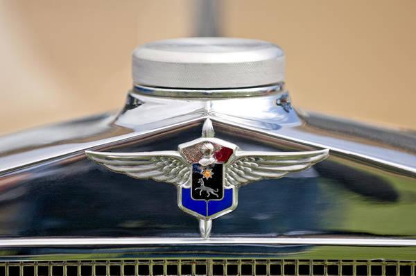 Photograph - 1932 Cadillac Lasalle Emblem by Jill Reger