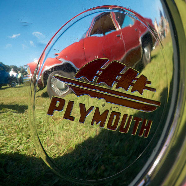 Photograph - 1947 Plymouth Coupe Hubcap by Mark Dodd
