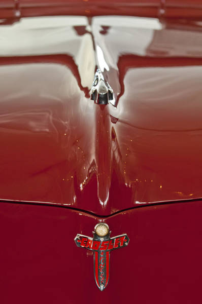 Photograph - 1948 Crosley Convertible Hood Ornament by Jill Reger