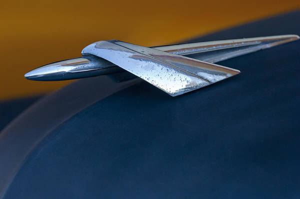 Photograph - 1951 Mercury Hood Ornament by Jill Reger
