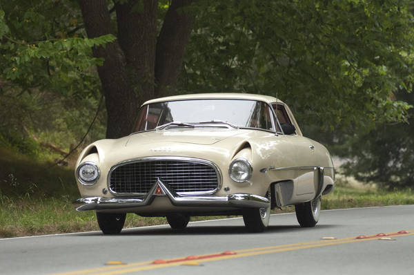 Photograph - 1954 Hudson Italia Touring Coupe  by Jill Reger