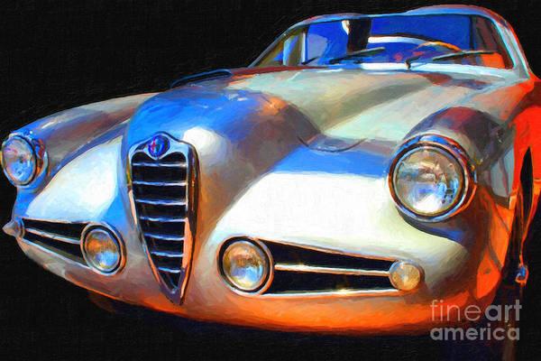 Photograph - 1955 Alfa Romeo 1900 Ss Zagato by Wingsdomain Art and Photography