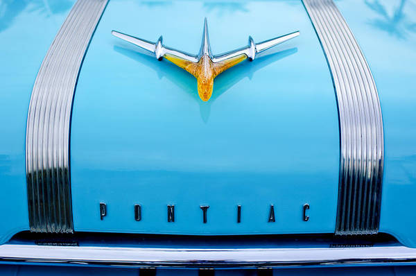Photograph - 1955 Pontiac Safari Hood Ornament by Jill Reger