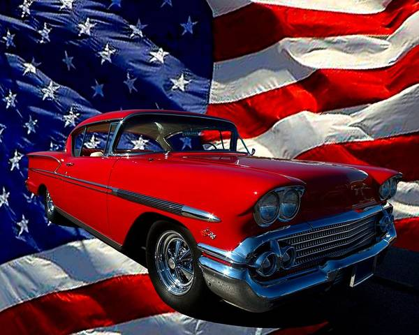 Photograph - 1958 Chevrolet Impala  by Tim McCullough