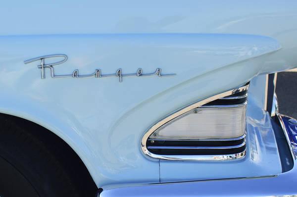 Photograph - 1958 Edsel Ranger by Jill Reger