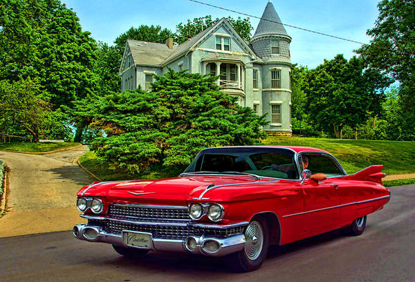 Photograph - 1959 Cadillac Low Rider by Tim McCullough