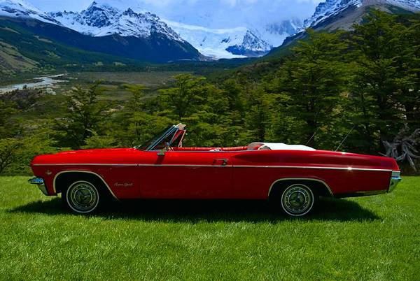 Photograph - 1965 Chevrolet Impala Ss Convertible by Tim McCullough