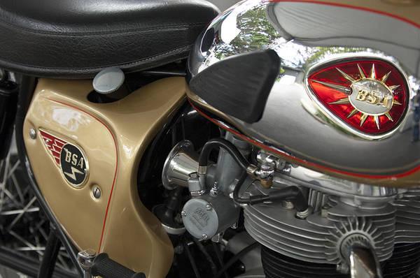 Photograph - 1966 Bsa 650 A-65 Spitfire Lightning Clubman Motorcycle by Jill Reger