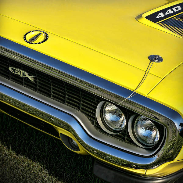383 Photograph - 1971 Plymouth Gtx 440 by Gordon Dean II