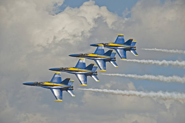 Photograph - 2012 U.s. Navy Blue Angels by Rick Hartigan