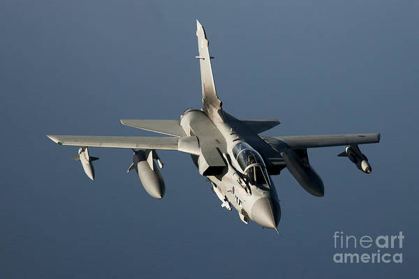 Brimstone Photograph - A Panavia Tornado Gr4 Of The Royal Air by Gert Kromhout