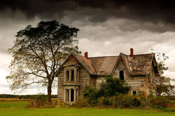 Abandoned House Wall Art - Photograph - Abandoned House by Cale Best
