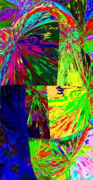 Borden Digital Art - Abstract Fusion 7 by Will Borden