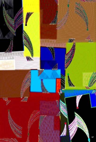 Borden Digital Art - Abstract Fusion 9 by Will Borden