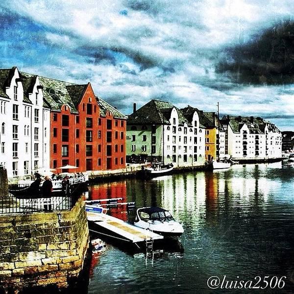 Travel Photograph - Alesund-norway by Luisa Azzolini