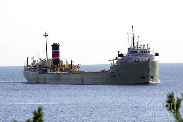 Wall Art - Photograph - Alpena Ship by Lori Tordsen