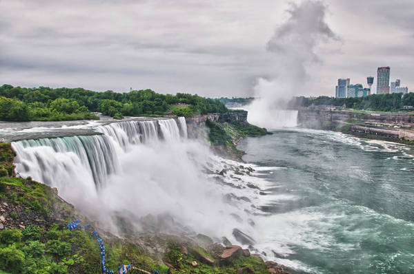 Photograph - American Falls 7880 by Guy Whiteley