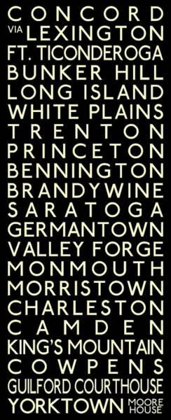 Delaware Valley Digital Art - American Revolution by Chris Brown