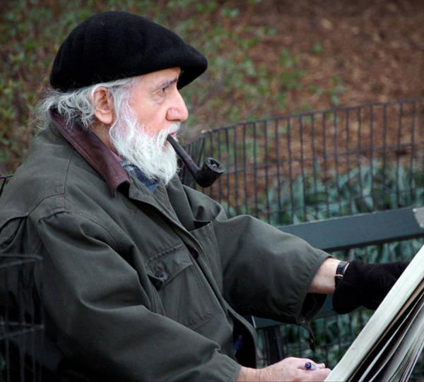 Photograph - An Artist In Central Park by RicardMN Photography