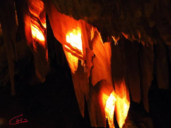Photograph - Ancient Old Grotte Magdaleine by Colette V Hera  Guggenheim