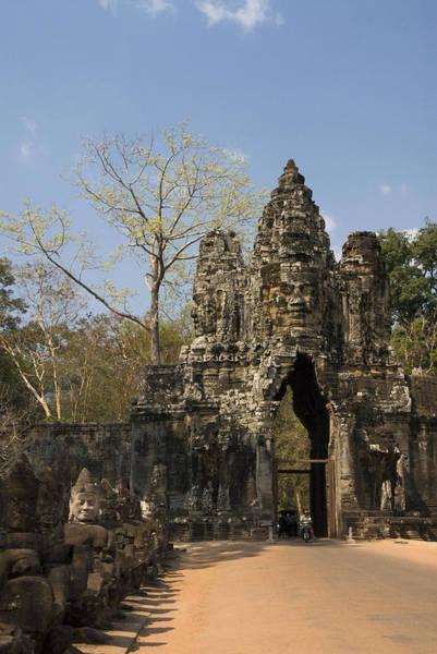 Wall Art - Photograph - Angkor Thom by Gloria & Richard Maschmeyer