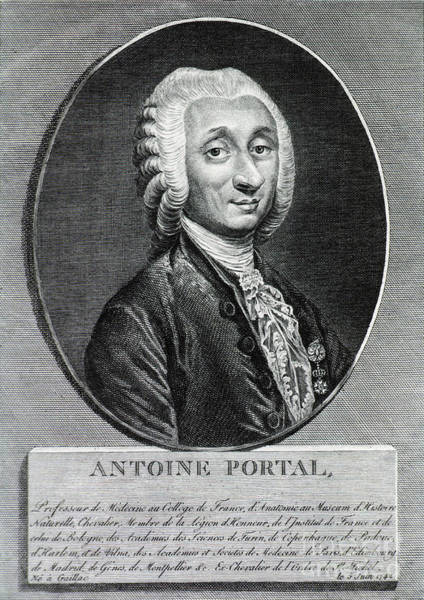 Cours Photograph - Antoine Portal, French Anatomist by Science Source