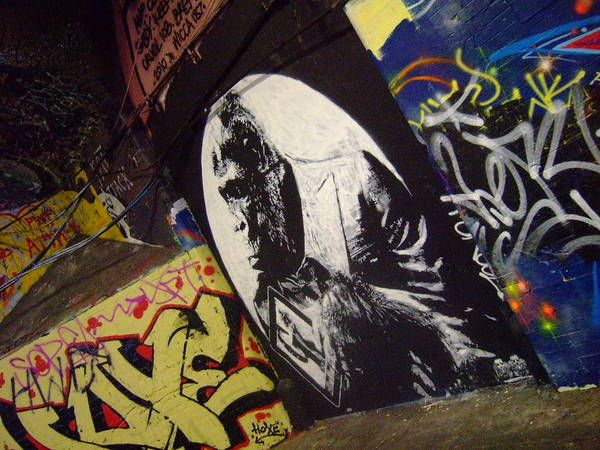 Wall Art - Painting - Apes Will Rise by Grafeeney