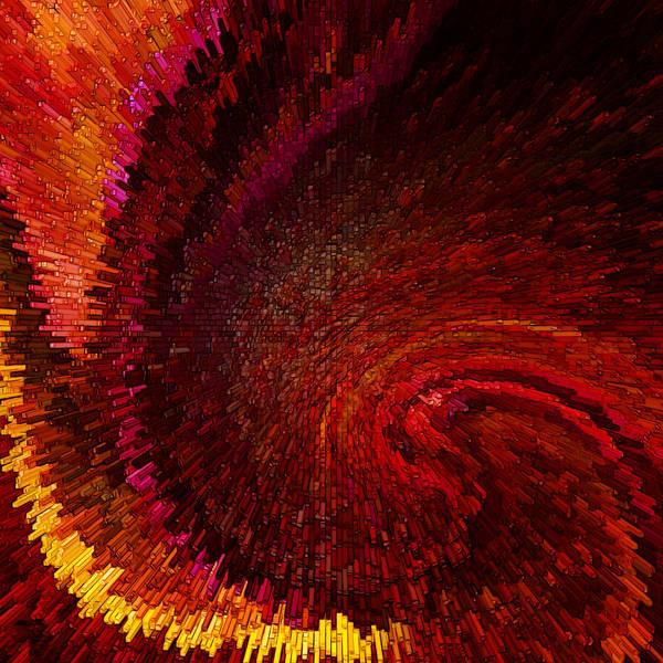 Red Brick Digital Art - Area Red by Steve K