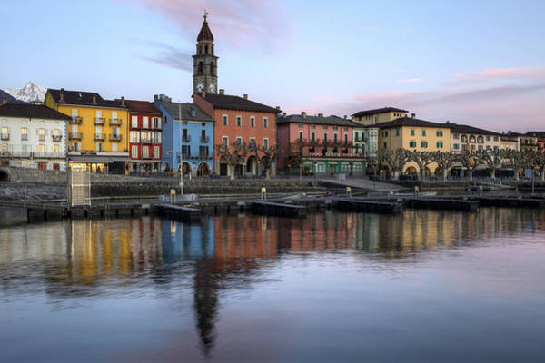 Ticino Photograph - Ascona At Night by Joana Kruse