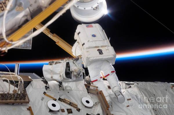Photograph - Astronaut Jim Reilly by Nasa